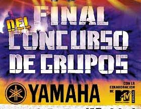 Final del concurso YAMAHA