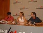 Ampliar foto de la rueda de prensa de los VI PREMIOS DE LA MÚSICA ARAGONESA