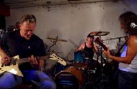 Metallica ensayando