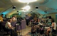 Metallica en el estudio de grabación