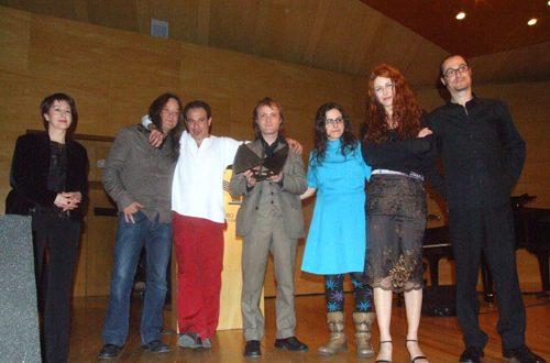 El Galgo Rebelde con Rosa Borraz, Concejal de Cultura del Ayuntamiento de Zaragoza