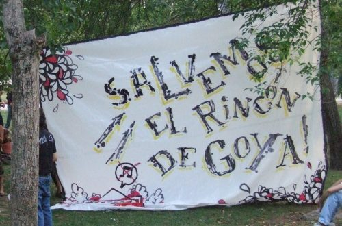Rincón de Goya - Pancarta