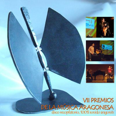 Cedé de los VII Premios de la Música Aragonesa