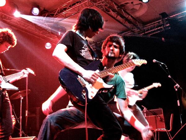 Sultans en directo Enero 2008. Foto: Aragón Musical