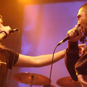 Kase.O y El Dos en Las Armas. Final del MVT 2008. Foto de Ángel Burbano.
