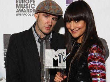 Amaral en los MTV Eurpe 2008