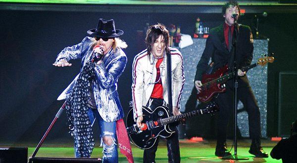 Guns n`Roses 22 de octubre, Pabellón Príncipe Felipe. Foto, Ángel Burbano