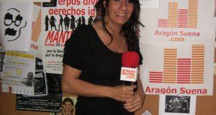 Sheila Herrero tras su entrevista en el podcast Diez!