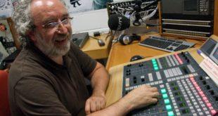 Chusé Fernández tras grabar el Podcast Diez
