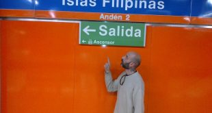 Rafa Angulo Partiendo hacia Filipinas