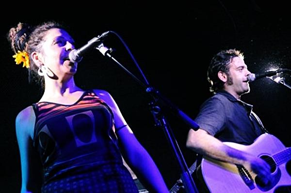 Foto: ESPARATRAPO en el Festival Aragón Musical Barrio 33