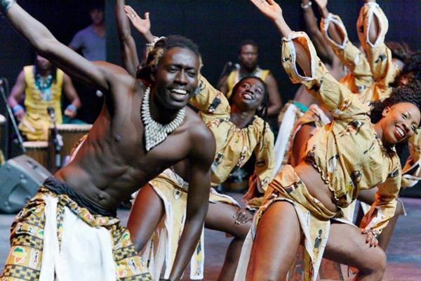 Foto: Representantes de Senegal