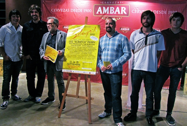 Foto: Rueda de prensa del SLAP! FESTIVAL