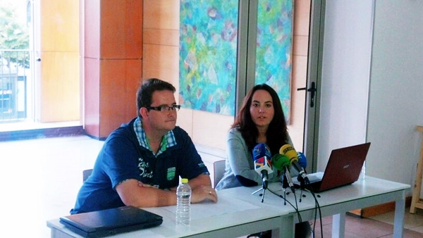 Foto: Rueda de prensa convocada por TANRICAMENTE. Por: Aragón Musical.