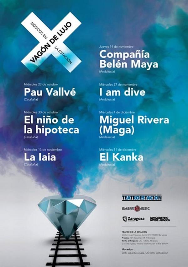 Cartel oficial VAGÓN DE LUJO