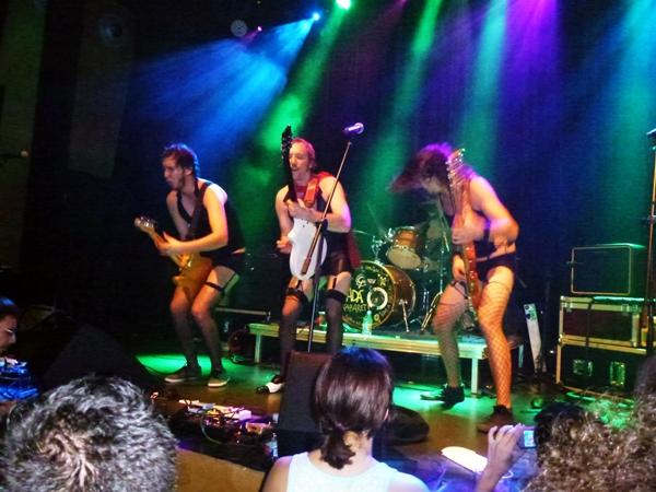 Foto: DADÁ en Kabaret Dadá. Por: Ánchel Fotos.