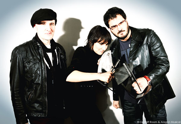 Foto: AMARAL y COPILOTO en los XII Premios de la Música Aragonesa. Por: Gustaff Room.