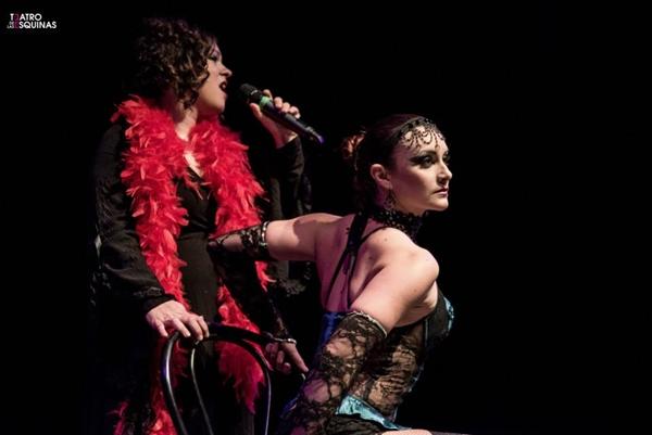 Foto: DESKONTROL KABARET. Por: Teatro de las Esquinas de Zaragoza.