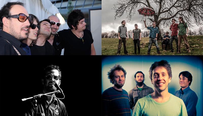 Los grupos participantes en el V Festival Aragón Musical Barrio 33