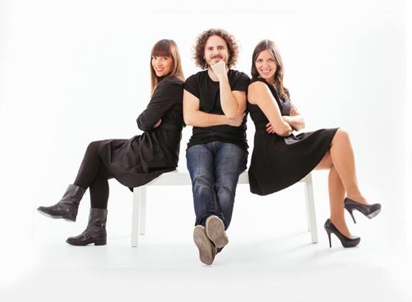 Foto: Laura Martínez, Lorenzo Izquierdo y Beatriz Pitarch