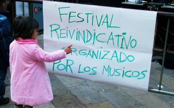 Foto: ROSCÓN ROCK. Por: Aragón Musical.