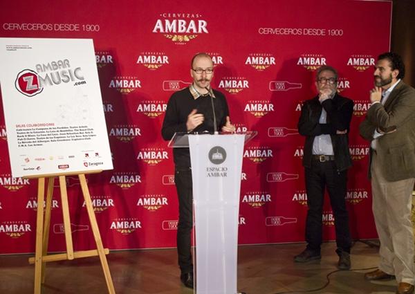 Foto: RUEDA DE PRENSA DEL ÁMBAR Z MUSIC 2014