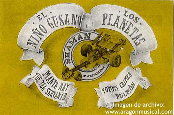 Imagen: Cartel del SHAMAN FESTIVAL