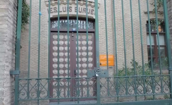 Foto: ANTIGUO IES LUIS BUÑUEL