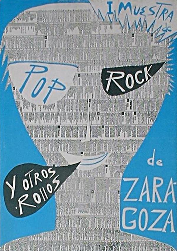 Cartel oficial: I MUESTRA DE POP ROCK Y OTROS ROLLOS