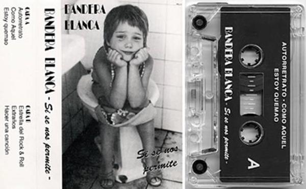 Portada:'Si se nos permite' de BANDERA BLANCA (1991)