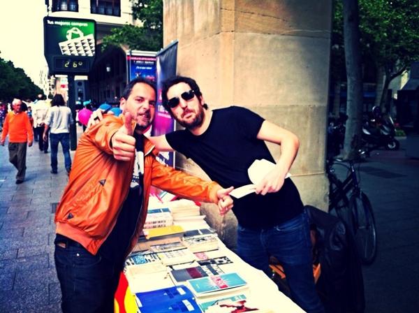 Foto: SEBAS PUENTE con nuestro compañero SERGIO FALCES