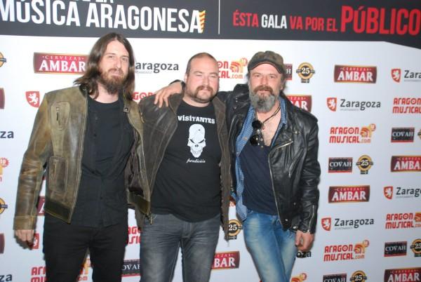 Foto: VISITANTES en los XV Premios de la Música Aragonesa.