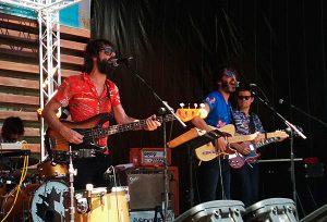 Sidonie en el escenario Museo del Polifonik Sound 2014