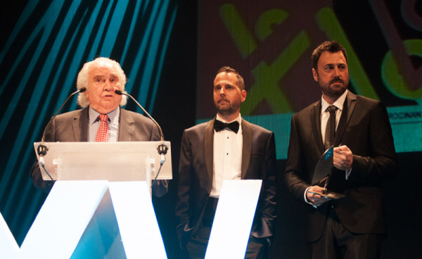 Foto: ANTÓN GARCÍA ABRIL en los XV Premios de la Música Aragonesa