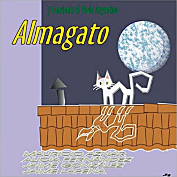 Portada: '7 Canciones al Modo Argentino' firmada en 1999 por ALMAGATO.