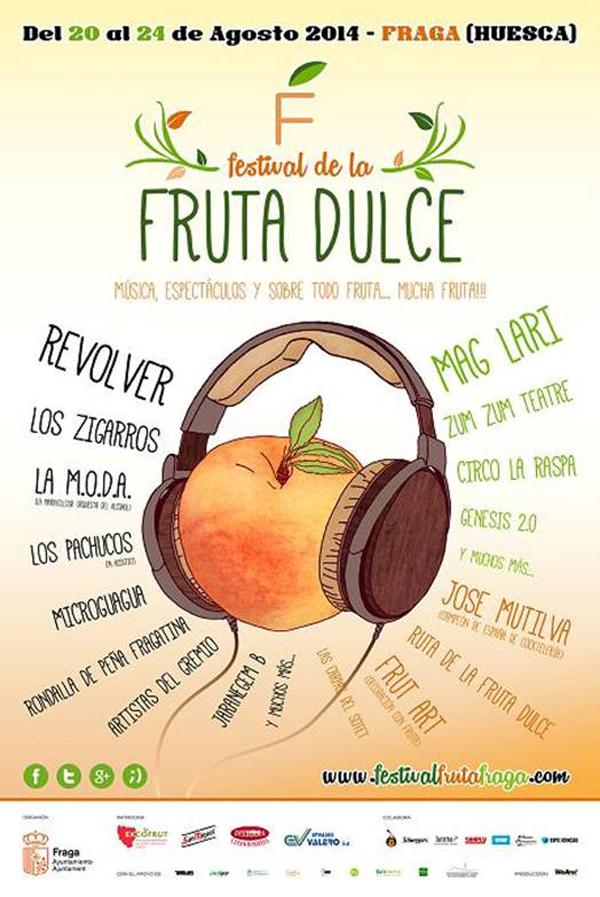 Cartel del Festival de la Fruta Dulce