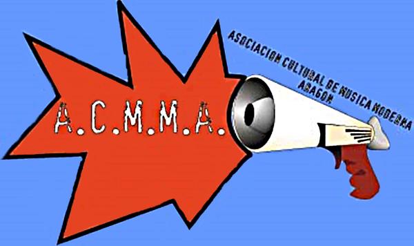 Logo de la ASOCIACIÓN CULTURAL DE MÚSICA MODERNA DE ARAGÓN (ACMMA)