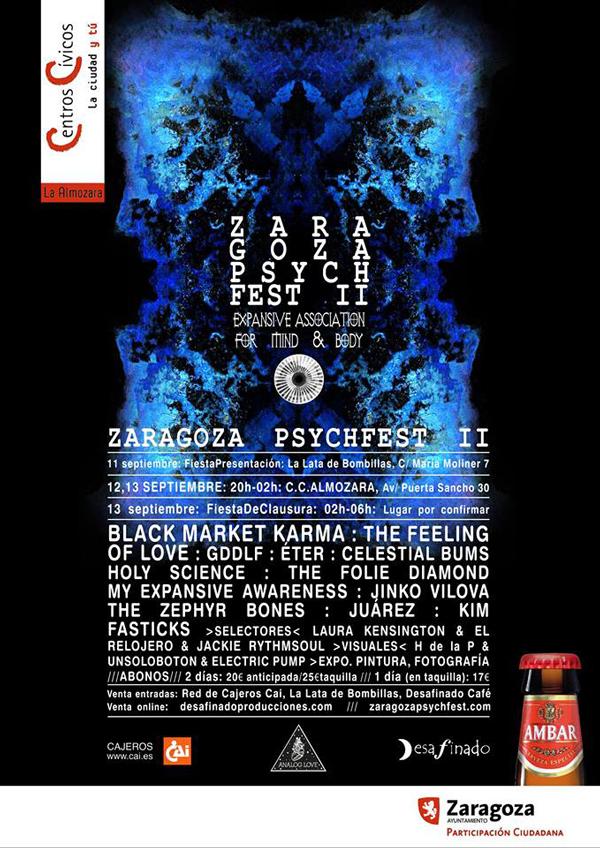 Cartel del Zaragoza Psych Fest II