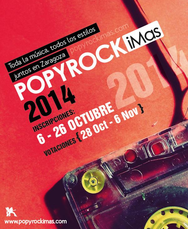 Cartel del concurso Popyroc iMas