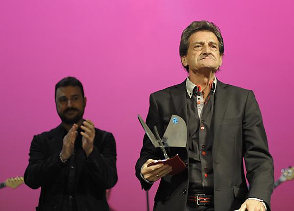 GAVY SANDER'S durante la gala de los XIV Premios de la Música Aragonesa