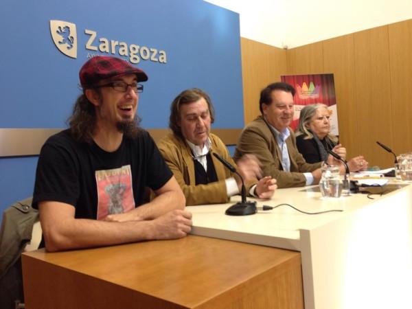 Foto: Presentación del 2º MERCADO DE LAS ARTES ESCÉNICAS DE ZARAGOZA