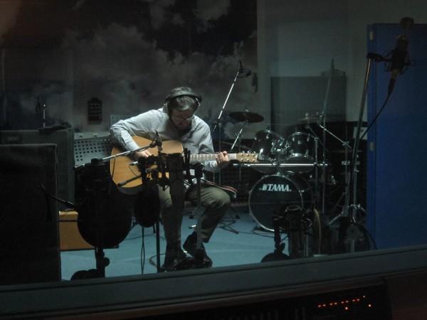 PUX grabando en estudios Séptimocielo