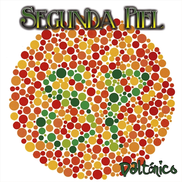 Portada del EP'Daltónico' de SEGUNDA PIEL