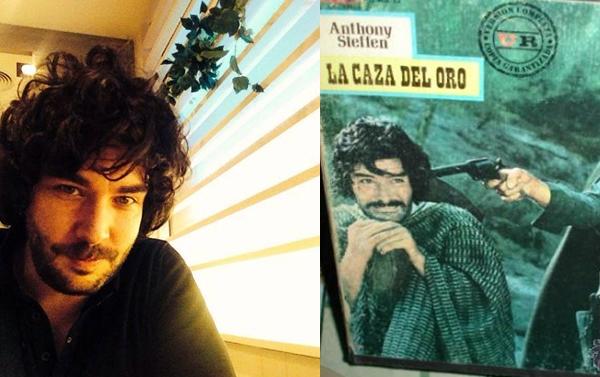 Antílope León y el actor Daniel Martín