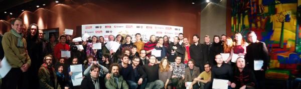 Nominados a los XVI Premios de la Música Aragonesa. Foto: Aragón Musical.