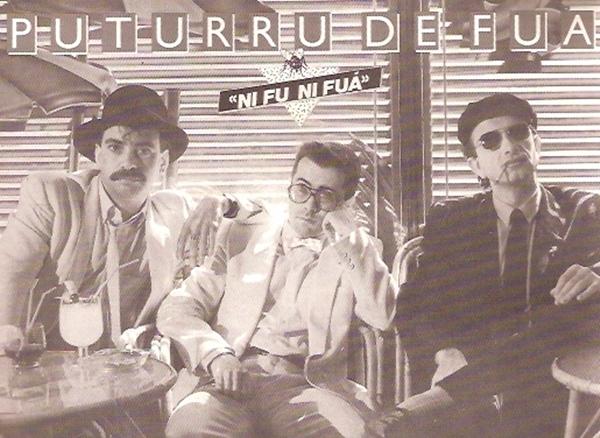 "Portada del disco ""Ni Fu ni Fuá"" firmado en 1986 por Puturrú de Fuá"