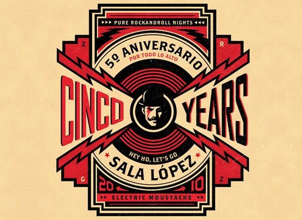 Quinto aniversario de la sala López de Zaragoza