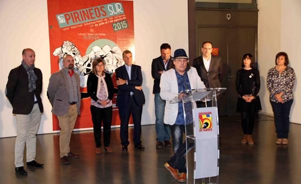 Presentación de Pirineos Sur en Huesca