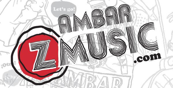 Logotipo del Ámbar Z Music