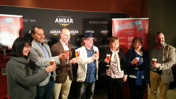Presentación por la tarde en Zaragoza, en el Espacio Ámbar .